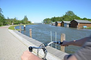 Uferpromenade in Plau am See
