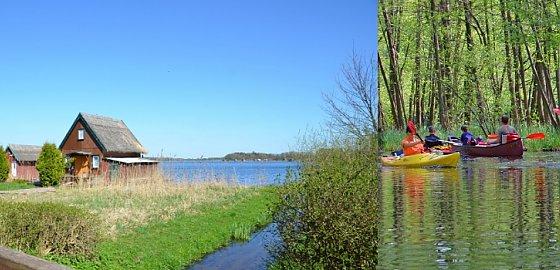 Mecklenburger karte paddeln seenplatte Kanatu